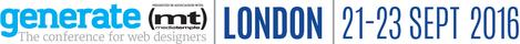Alternative Generate London 2016 logo