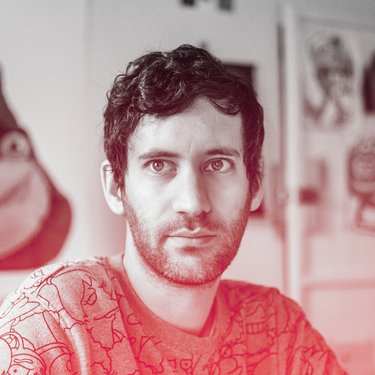 Jon Burgerman Headshot